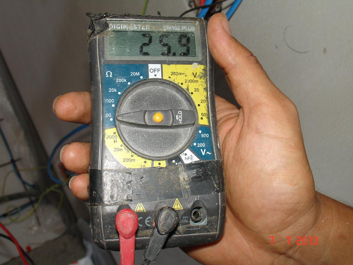 Nexas Ενδοδαπέδια Θέρμανση - Έλεγχος καλωδίων με ωμική μέτρηση
