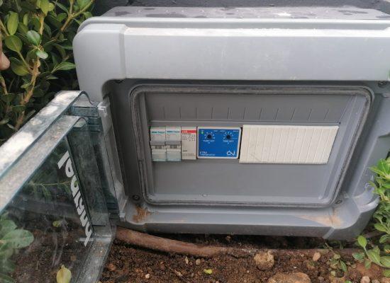 Nexans Αντιπαγετική Προστασία - Ηλ/κός πίνακας με τον Θερμοστάτη ETR2